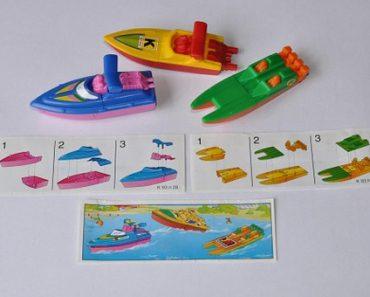 bateau minitaure